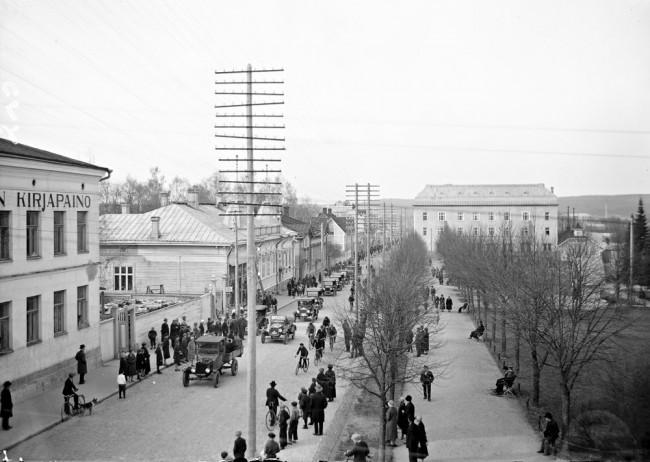 Kuva Valokuvaamo Päijänne. Keski-Suomen museo.