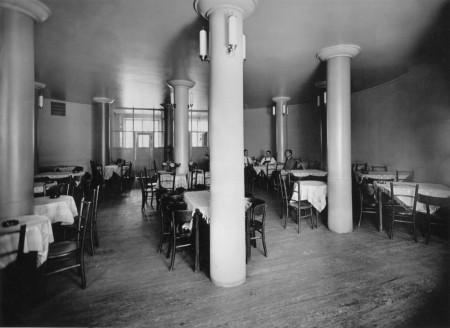 Työväentalon ravintola vuonna 1930. Kuva Alvar Aalto -museo.
